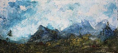 Impressionistic Landscape Poster