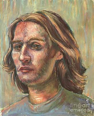 Poster featuring the pastel Impressionistic Portrait by Lisa DuBois