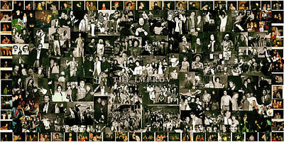 Improv Collage Poster by Debbe Duperrieu