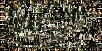 Improv Collage Poster