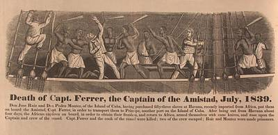 In 1839 Fifty-four African Captives Poster