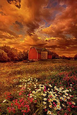 In A Heartbeat Poster by Phil Koch