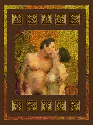 In Love Poster by Kurt Van Wagner