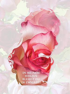 Valentine M1 In Meinem Herzen Love Poster