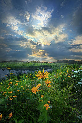 In Restless Dreams I Walk Alone Poster by Phil Koch