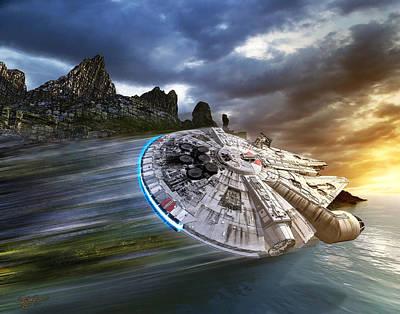 In Search Of Luke Skywalker Poster