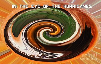 In The Eye Of The Hurricanes Poster