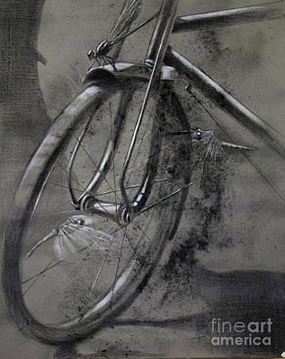 In The Mist Of Modernization 1 Poster by Raj Maji