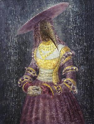 In The Rain Poster by Lolita Bronzini