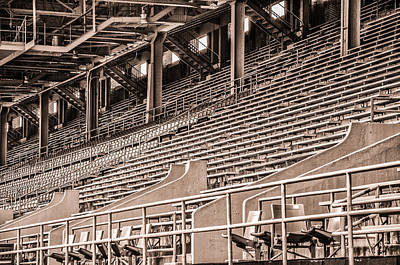 In The Stands - Franklin Field Poster by Bill Cannon