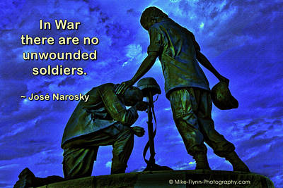 In War There Are No Unwounded Poster