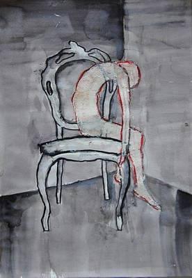 Thin Skin On Chair Poster by Maya Brittain
