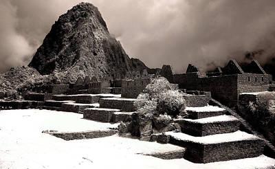Inca Ruins Peru Machu Picchu Poster