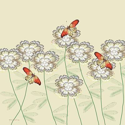 Incendia Flower Garden Poster