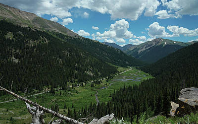 Independence Pass In Summer Poster