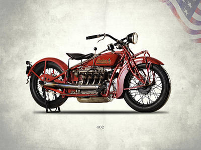 Indian 402 1931 Poster by Mark Rogan