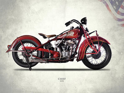 Indian Chief 1939 Poster by Mark Rogan