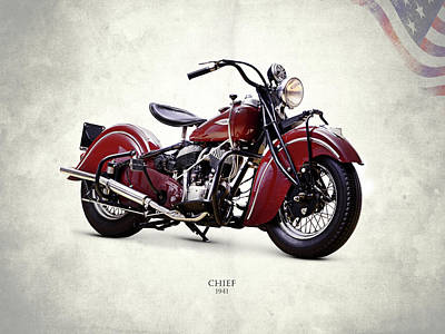 Indian Chief 1941 Poster by Mark Rogan