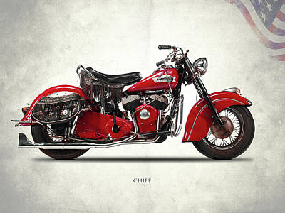 Indian Chief 1950 Poster by Mark Rogan
