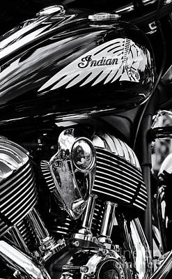 Indian Chieftain Poster by Tim Gainey