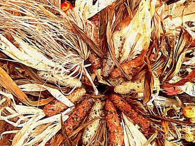 Indian Corn Maize  Poster