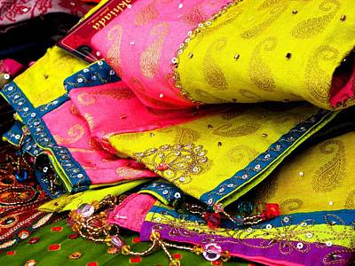 Indian Fabric Two Poster