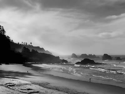 Indian Point Beach - Oregon Coast Poster by Daniel Hagerman