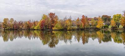 Indiana Autumn Poster