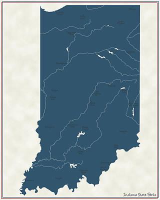 Indiana Parks - V2 Poster