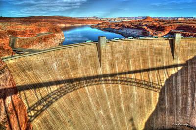 Indispensable Glen Canyon Dam Grand Canyon National Park Art Poster