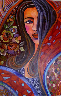 Indo Chic Poster by Fehmida Haider