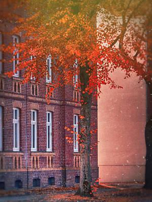 Industrial Autumn Poster by Nicole Frischlich