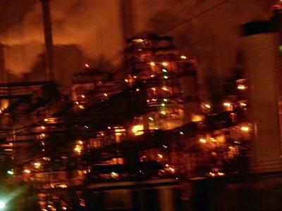 Industrial Nights✴ Steam Punk Poster