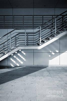Industrial Stairway Poster by Carlos Caetano