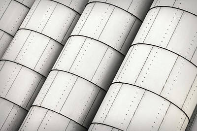 Industrial Storage Tanks Poster by Todd Klassy
