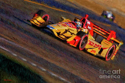 Indy Car Ryan Hunter-reay 2017 Poster