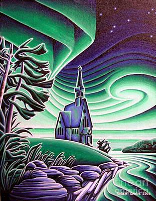 Infant Jesus Church, Longlac, Ontario Poster by Robert Davies