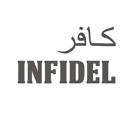 Infidel Poster by Linda Bissett