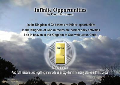 Infinite Opportunities Poster