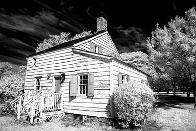 Infrared House At Olde Towne Poster by John Rizzuto