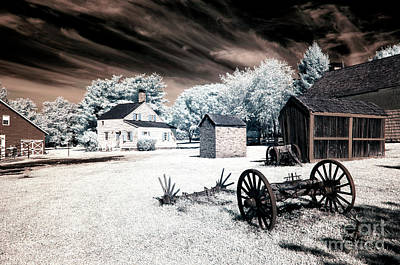 Infrared Olde Towne Poster
