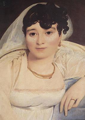 Ingres Madame Riviere  Poster