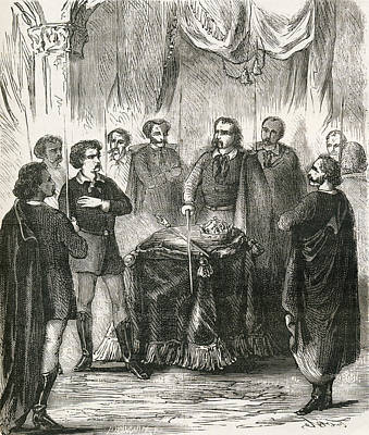 Initiation Of An Illuminatus. From Poster