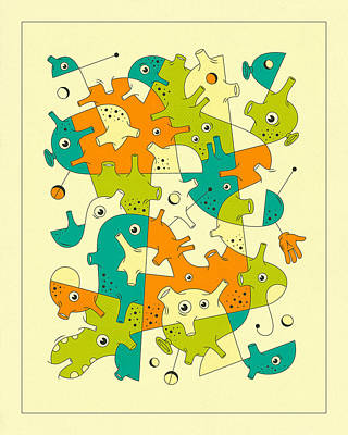 Inner Formations 3 Poster by Jazzberry Blue