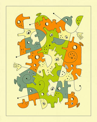 Inner Formations 5 Poster by Jazzberry Blue