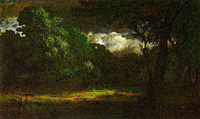 Inness George Medfield Massachusetts Poster by George Inness