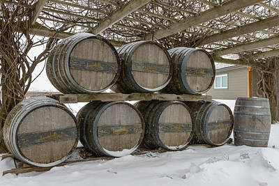 Niagara On The Lakes Inniskillin Winery Poster