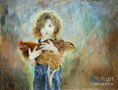 Innocent Love Poster by Ann Radley