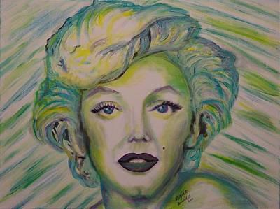 Innocent Marilyn Poster by Regina Brandt