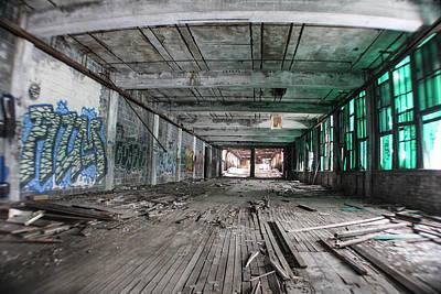 Inside Detroit Packard Plant  Poster